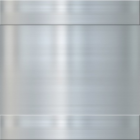 very finely brushed steel metal background texture Stock Photo - 4151357