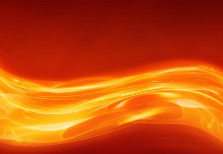grande image abstraite de la chaleur ou de la lave qui coule