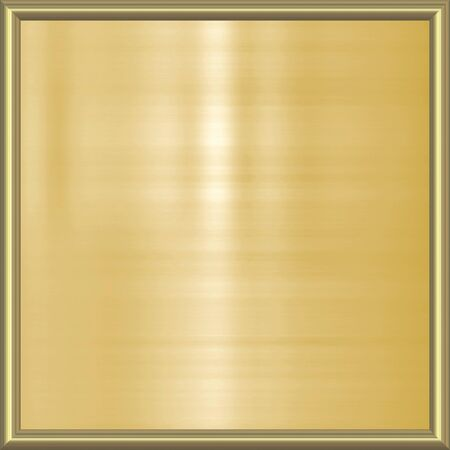 great image of gold plaque in frame Stock Photo - 4496690