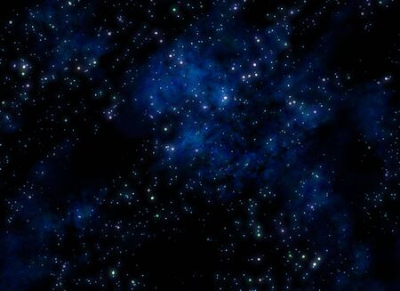 image of stars and nebula clouds in deep space