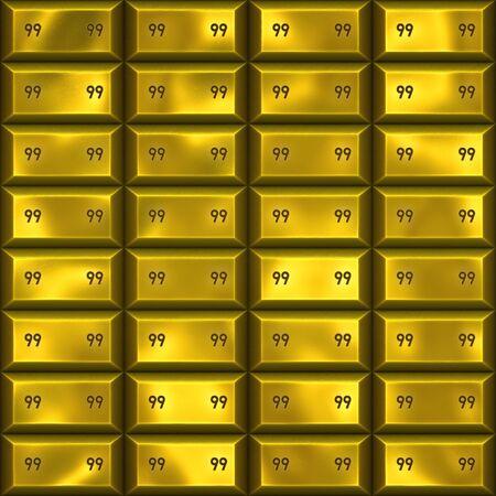 ingots: great  image of gold bars or ingots Stock Photo