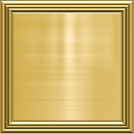 plaque: great image of gold plaque in frame