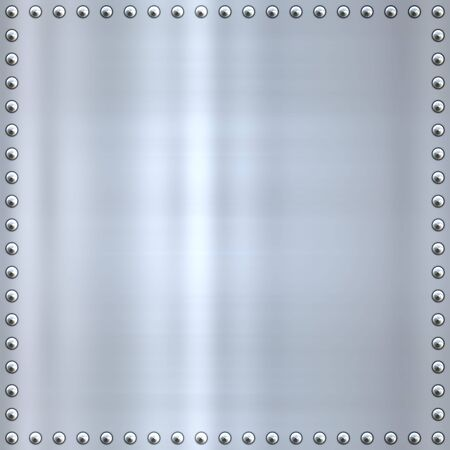 great shiny alloy or steel metal background Stock Photo - 4636223