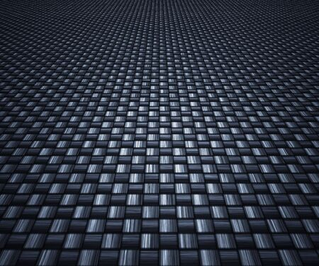 great image of a woven carbon fibre background Stock Photo