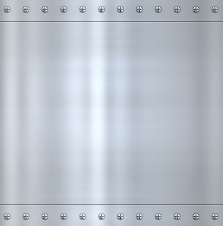 great shiny alloy or steel metal background photo