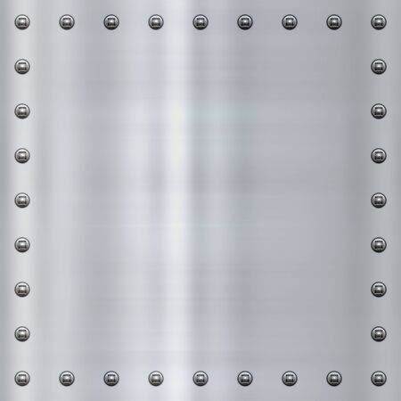 great shiny alloy or steel metal background Stock Photo - 4807350