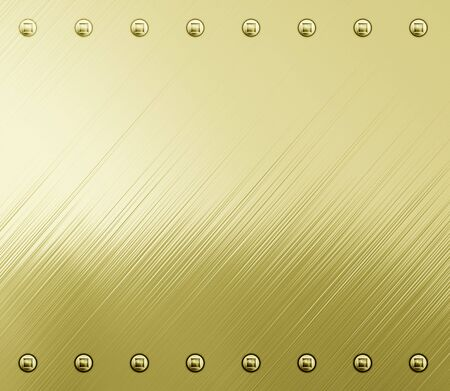 great shiny gold metal background texture image Stock Photo - 5041297