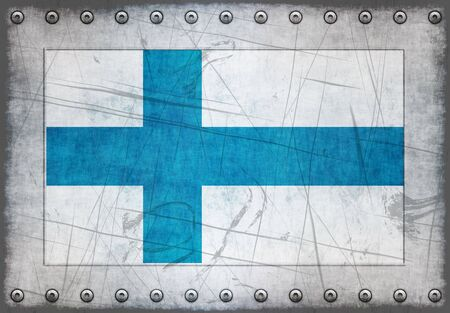 Great Image of the Flag of Finland Stock Photo - 5066958