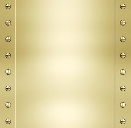 tornillos: grandes de metal en oro brillante de textura de fondo de imagen