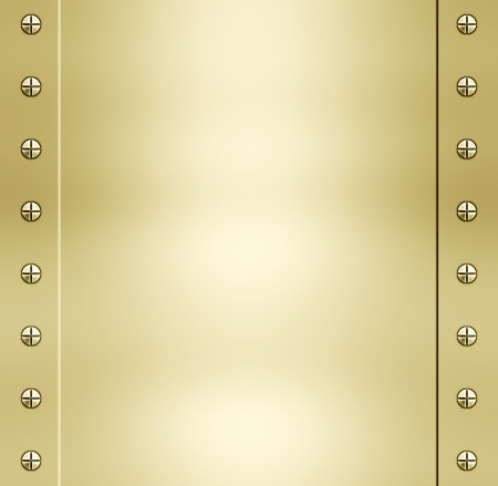 reflect: great shiny gold metal background texture image