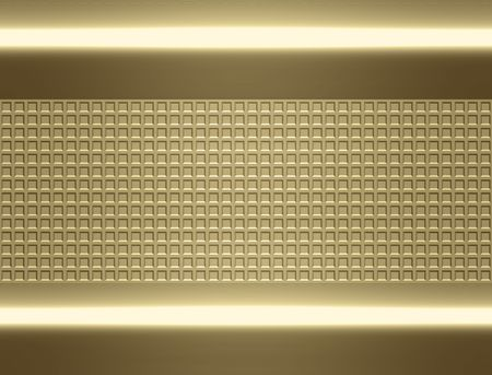 great shiny gold metal background texture image Stock Photo - 5066985