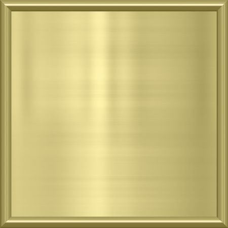 plating: great image of shiny gold metal frame  Stock Photo