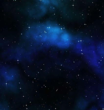 great artistic space background with flared stars Stock Photo - 5514714