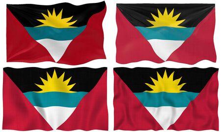 antigua: Great Image of the Flag of antigua barbuda