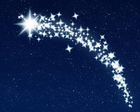 tiro al blanco: excelentes im�genes de un tiroteo que deseen la estrella de Navidad