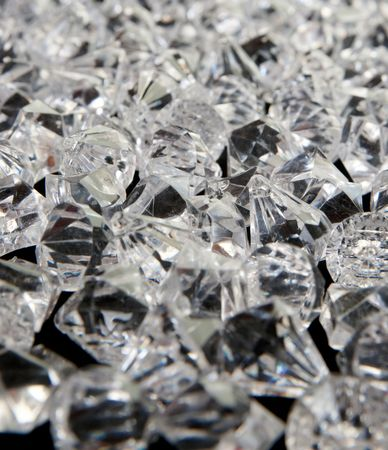 rock pile: great background image of lots and lots of diamonds