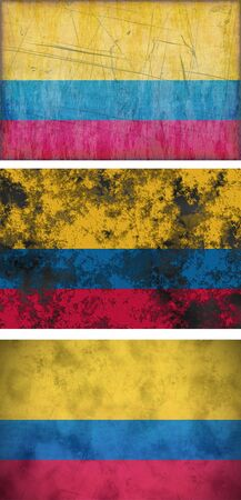 Great Image of the Flag of Colombia photo