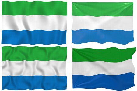sierra: Great Image of the Flag of Sierra Leone