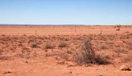australian landscape: australian desert out of broken hill