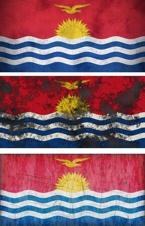 kiribati: Great Image of the Flag of Kiribati