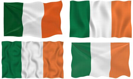 Great Image of the Flag of Ireland Stock Photo - 6518645