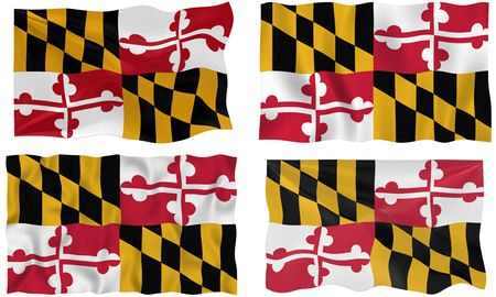 Great Image of the Flag of Maryland photo