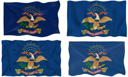 dakota: Great Image of the Flag of North Dakota