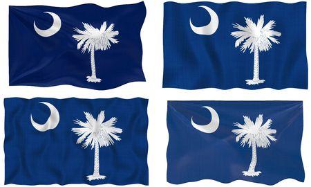 Great Image of the Flag of South Carolina photo