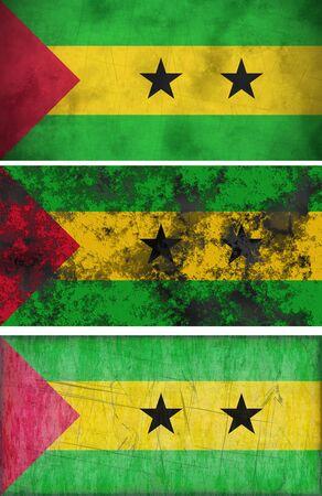 tome: Great Image of the Flag of Sao Tome and Principe