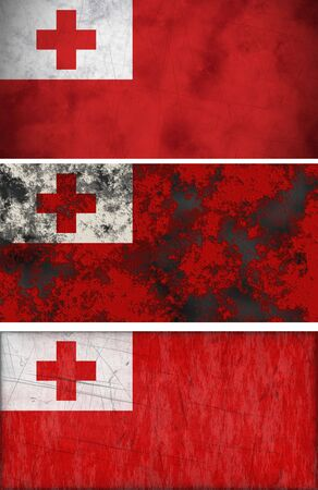 Great Image of the Flag of Tonga photo