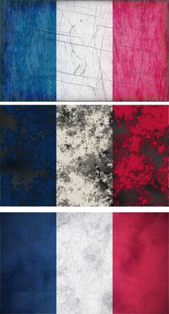 Great Image of the Flag of France photo
