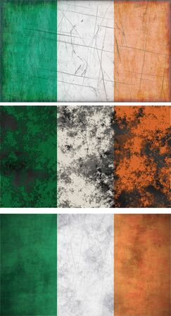 Great Image of the Flag of Ireland Stock Photo - 6519015