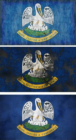 Great Image of the Flag of Louisiana photo