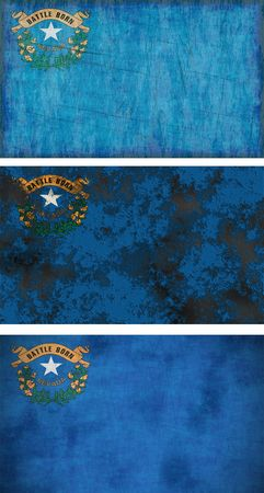 Great Image of the Flag of Nevada photo
