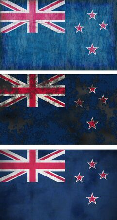 Great Image of the Flag of New Zealand photo