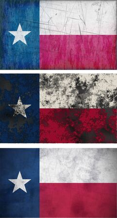 Great Image of the Flag of Texas photo