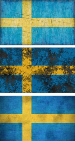 Great Image of the Flag of Sweden photo