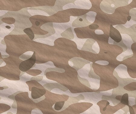 excellent background illustration of disruptive  camouflage material Vector