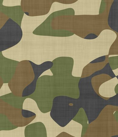 great image of camouflage fabric with space for text photo
