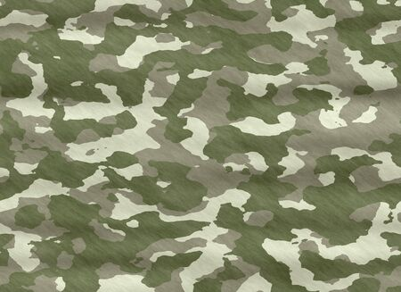 camouflage material cloth Vector