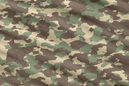 vector illustration of disruptive  camouflage material Vector