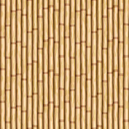 pali di bambù come parete o tenda