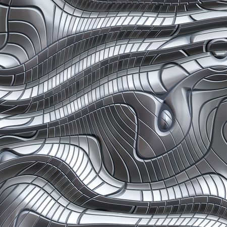 plating: great image of an abstract metal background Illustration