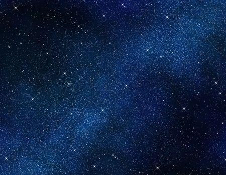 belle image de l'espace ou un ciel étoilé