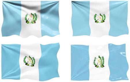 guatemala: Great Image of the Flag of Guatemala