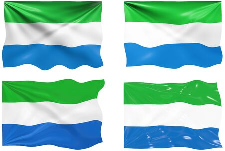 sierra: Great Image of the Flag of Sierra Leone