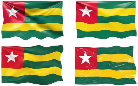 Great Image of the Flag of Togo Vector