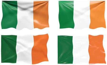 Great Image of the Flag of Ireland Stock Vector - 6874502