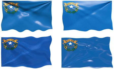 Great Image of the Flag of Nevada Vector