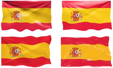 Great Image of the Flag of Spain Vector